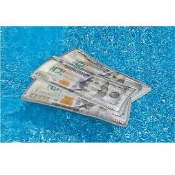 Swim Central Inflatable Benjamin Franklin Money Lounge Pool