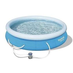 """Bestway 12' x 30"""" Fast Set Above Ground Swimming Pool"""