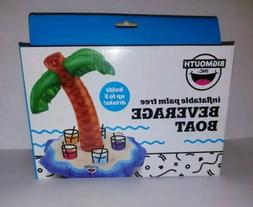 Big Mouth Inc Inflatable Palm Tree Beverage Boat 5 Drink Can