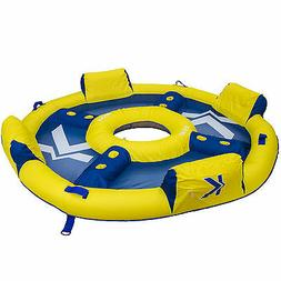 Kelsyus Big Nauti Elite 4-Person Inflatable Pool Float Tube