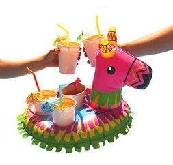 BigMouth Inc Inflatable Piñata Multi Drink Float, Holds 5 D