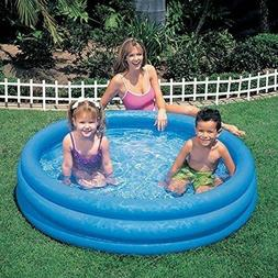 blue inflatable swimming pool 45 x 10