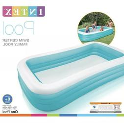 "BRAND NEW Intex Swim Center Family Inflatable Pool |120"" X 7"