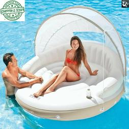 Canopy Island, Inflatable Swimming Pool Water Float Raft Pri