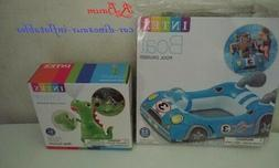 Intex Car Pool Cruiser & Dinosaur Outdoor Water Sprayer Kids
