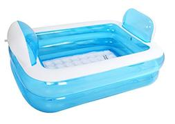 children inflatable family pool swimming
