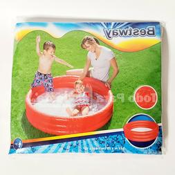 Childrens Inflatable Pool 40x10 Kids Swimming Pools Outdoor