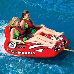 Cockpit Tube Towable Water Ski 2 Person Coupe Inflatable Boa