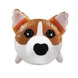 Corgi Dog Inflatable Swimming Pool Water Float Blow Up Party