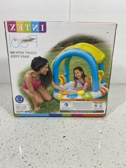 count with me baby swimming pool shade