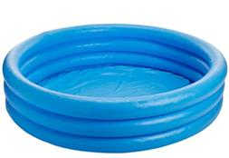 """Intex Crystal Blue Inflatable Pool 45"""" x 10"""" Ages 2+ New Sup"""