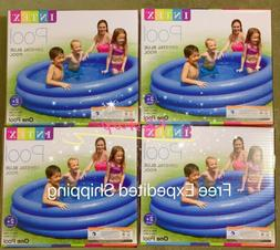 "Intex Crystal Blue Inflatable Pool, 45 x 10"" Free Same Day S"