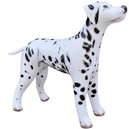 "Jet Creations An-DALM 36"" Tall Inflatable Dalmatian Dalm Dog"