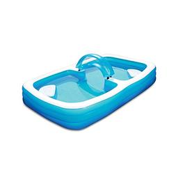 Summer Escapes Deluxe Frosted Inflated Family Pool 120'' x 7