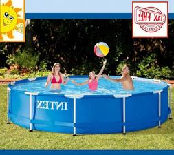 Intex Deluxe Play Center Water Metal Frame Above Ground Swim