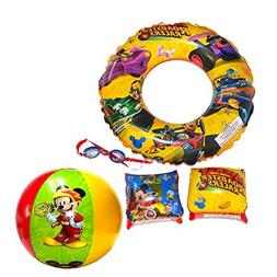 Disney Jr. Mickey Super 5-Piece Goggles And Inflatable Swim