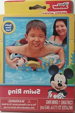 Disney Junior Mickey Mouse Clubhouse Swim Ring with Mickey a