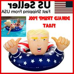 Donald Trump Swimming Floats Fun Inflatable Pool Raft Float