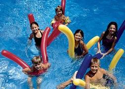 Swimline Doodles Inflatable Noodles Six Pack