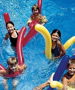 6 pk Doodles Inflatable Pool FLOAT Noodles Toy Learn To SWIM
