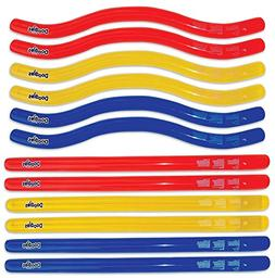 Swimline Doodles Inflatable Pool Noodle Float 2 Packs of 6 N