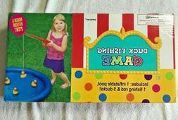 Amscan - Duck Fishing Game with Inflatable Pool 1 fishing ro