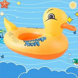 Duck Float Kids Inflatable Baby Toddler Swimming Swim Seat P