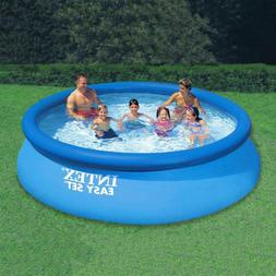 Easy Set 12 ft. Round x 30 in. Deep Inflatable Pool with 330