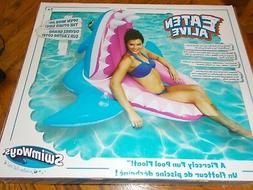 EATEN ALIVE STARVING SHARK FIERCELY FUN INFLATABLE POOL FULL