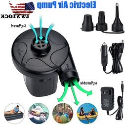 Electric Air Pump For Inflatable air mattress Camping Bed Po