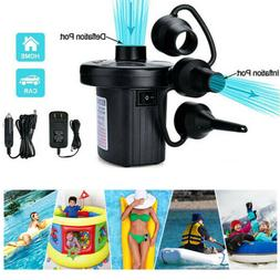 Electric Air Pump For Swim Ring Inflatable Boat Paddling Poo