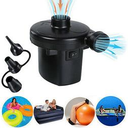 Electric Air Pump Quick-Fill Inflator for Inflatables Camp M