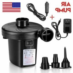 Electric Portable Air Pump for Inflatables Air Mattress Raft