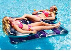 Swimline Face To Face Inflatable Double Pool Float Lounge Fo