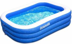 "Homech Family Inflatable Swimming Pool, 120"" X 72"" X 22"" Ful"