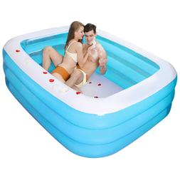 family swimming pool garden outdoor summer inflatable