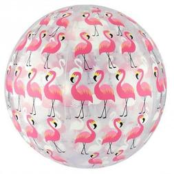 "FineLife Flamingo Beach Ball Set - Includes Two 10"" Beach"