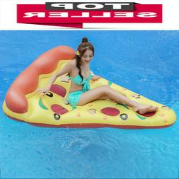 Full Size Inflatable Giant Pizza Slice Pool Float-Giant Ride