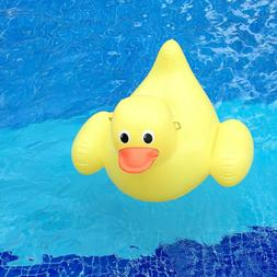 Full Size Inflatable Little Yellow Duck Pool Float-Giant Rid