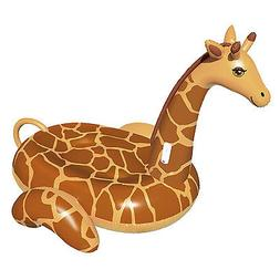 Swimline 90710 April The Giraffe Inflatable PVC Giant Ride O