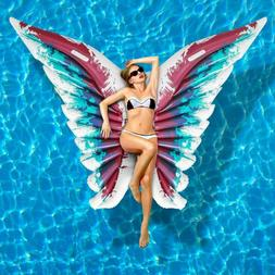 Giant Inflatable Butterfly Wings Angel Swimming Pool Float L