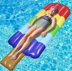 Greenco Giant Inflatable Popsicle Ices Float 70 inches Long