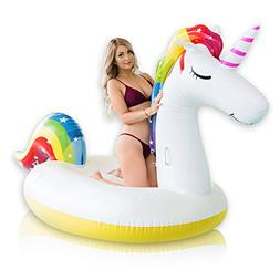 Giant Inflatable Unicorn Pool Float – Rapid Inflate and De