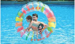 giant inflatable water wheel swimming pool water