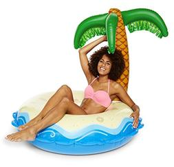 BigMouth Inc Giant Inflatable Palm Tree Pool Float, Funny In