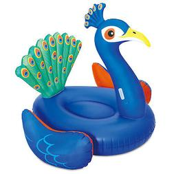 giant peacock ride on inflatable swimming pool