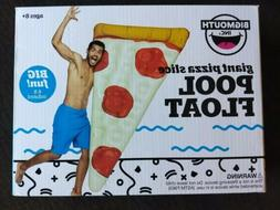 Giant Pizza Slice Inflatable Swimming Pool Float, BigMouth I