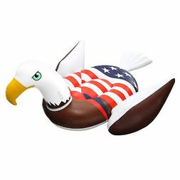 Giant Rideable Patriotic American Bald Eagle Inflatable Swim