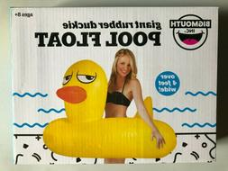 GIANT 4 FT - Inflatable Rubber Duckie Ducky Duck Pool Float
