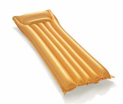 Bestway Gold Swim Mat Inflatable Pool Lounge Raft